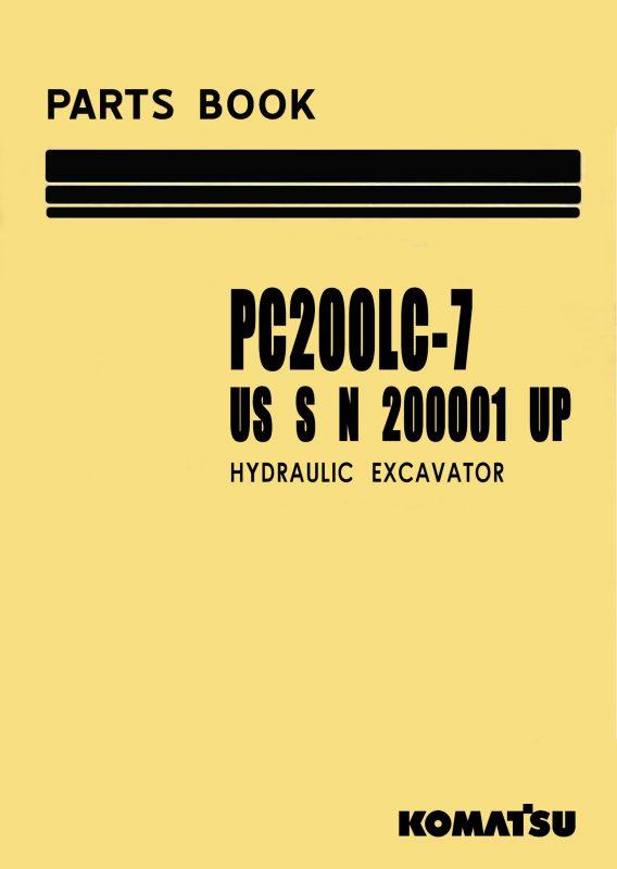 کوماتسو PC200-7 book
