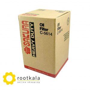 فیلتر روغن لودر کوماتسو W90 ساکورا C-5614