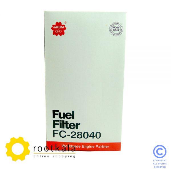 فیلتر گازوییل بیل مکانیکی هیوندای R210-7H ساکورا FC-28040