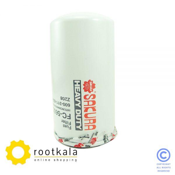 فیلتر گازوییل لودر کوماتسو W90 ساکورا FC-5605
