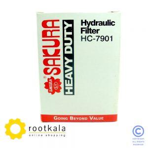 فیلتر برگشت هیدرولیک بیل مکانیکی هیوندای R210-7 ساکورا HC-7901