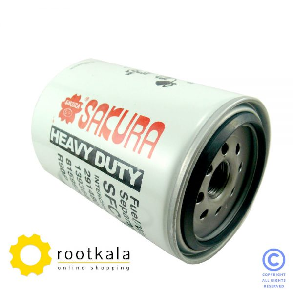 فیلتر آبگیر (سپراتور) گازوییل بیل مکانیکی هیوندای ساکورا SFC-7912-30