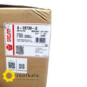 فیلتر هواکش بیل مکانیکی هیوندای R210-7 ساکورا AS-2833-S