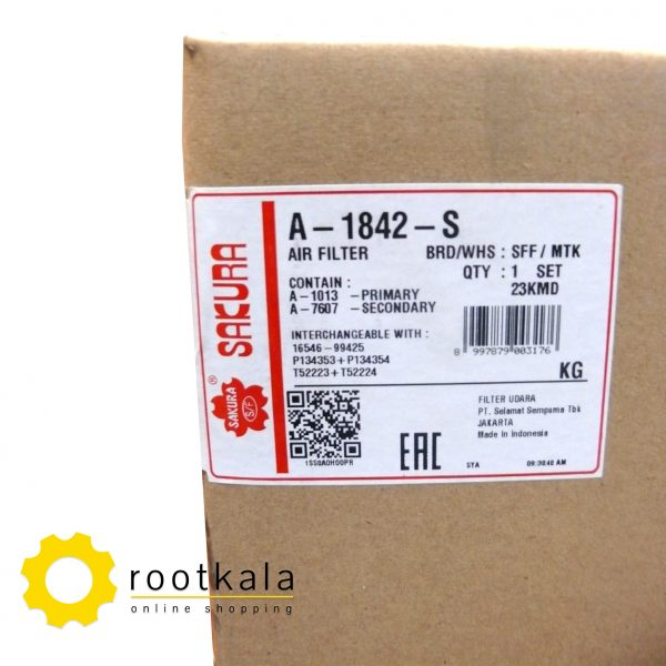 فیلتر هواکش لودر کوماتسو WA470 ساکورا A-1842-S
