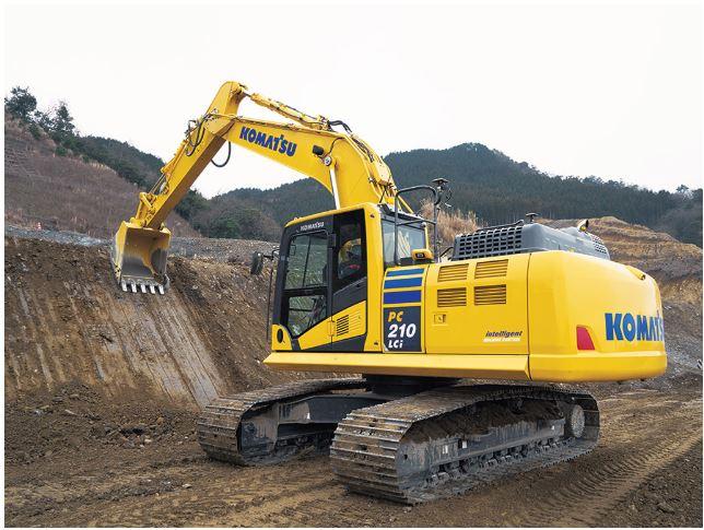 بیل مکانیکی کوماتسو PC210LCi-11