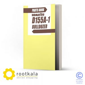 دانلود کتاب قطعات بولدوزر کوماتسو D155A-1