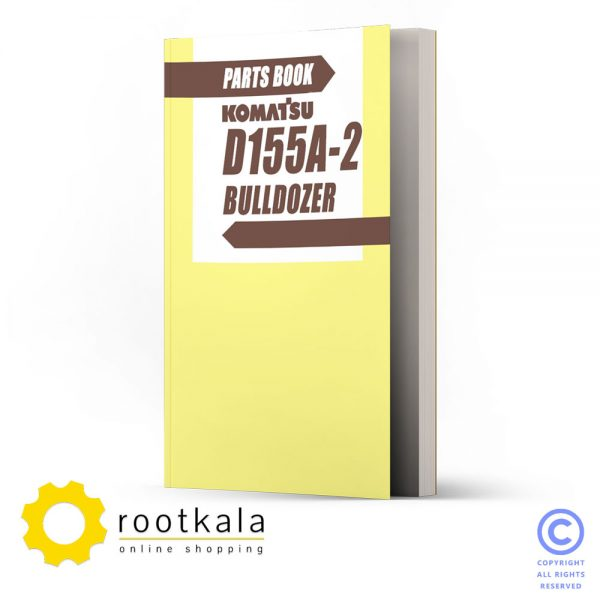 دانلود کتاب قطعات بولدوزر کوماتسو D155-A2