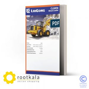 فایل PDF کتاب قطعات لودر لیوگانگ CLG856