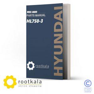 فایل PDF کتاب قطعات لودر هیوندای HL750-3