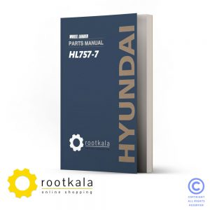 فایل PDF کتاب قطعات لودر هیوندای HL757-7