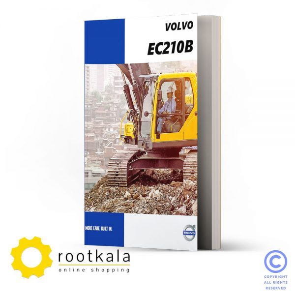 فایل PDF قطعات بیل مکانیکی ولوو EC210B